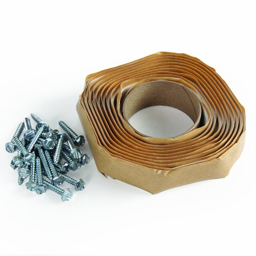 Camco 25013 Universal Vent Installation Kit with Butyl Tape