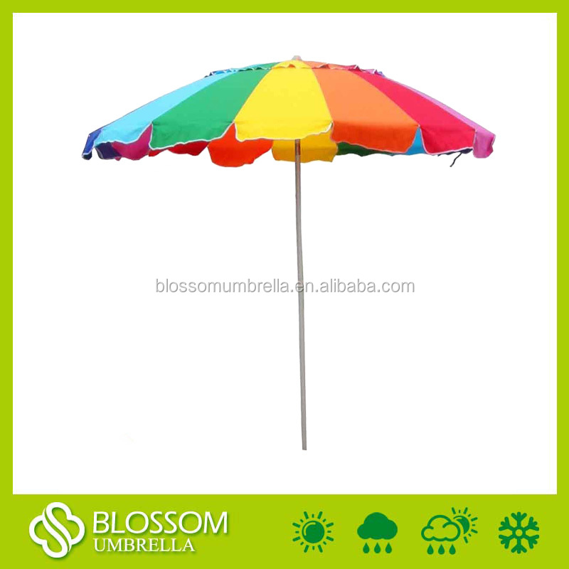 hot selling sun and rain shade beach umbrella