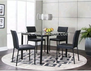 Cheap Small Spaces Glass Dining Rom Set Buy Glass Dining Room Sets Modern Tempered Glass Dining Table Set Cheap Dining Room Sets Product On Alibaba Com