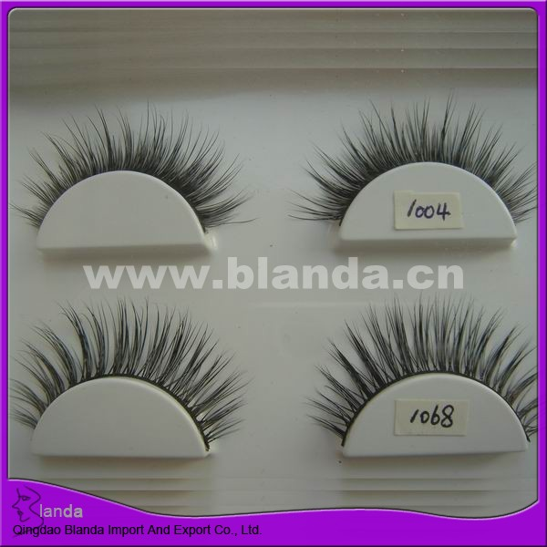 Fashion eyelash real mink lash strip, false eyelashes