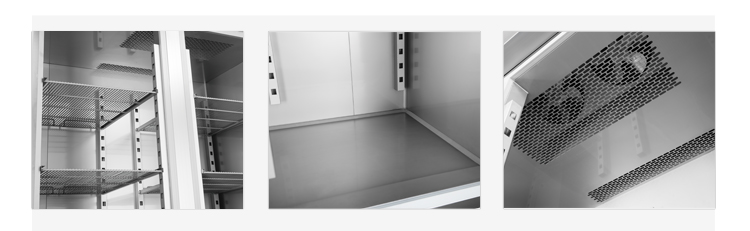FRCF-5-1 FURNOTEL Stainless Steel Industrial 4 Doors Refrigerator and Freezer Good Price