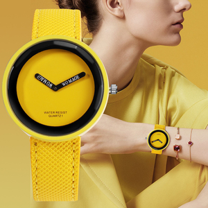 Fashion Women's Watches Leather Strap Ladies Watch Women Dress Watches Young Girl Watch Clock Reloj Mujer