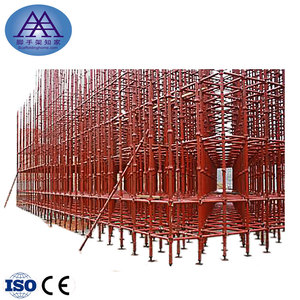 Factory Price Steel Galvanized Cuplock Scaffolding For Building bridges