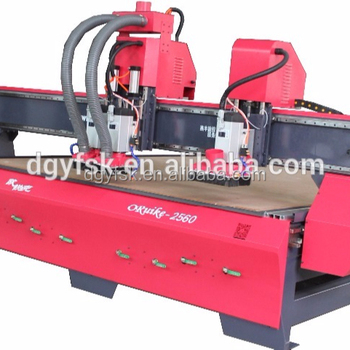 ORuike2560 large size cnc slotting and cutting machine for aluminum composite panel