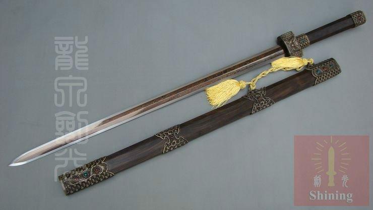 Yasha  Stardust Portador da Luz Interior Ahroun High-Quality-Antique-Chinese-Swords