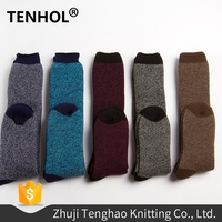 High quality men knitted battery heated hyper elite socks
