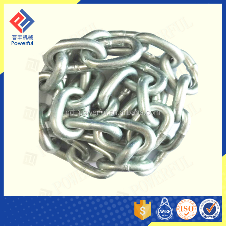 G80 SHORT LINK LIFTING ALLOY CHAIN