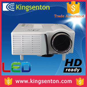 Low cost 320 x 240 projector support 1080p for home cinema