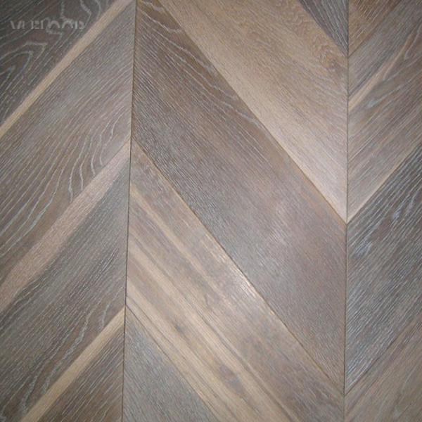 Eco Engineered Oak Grey Herringbone