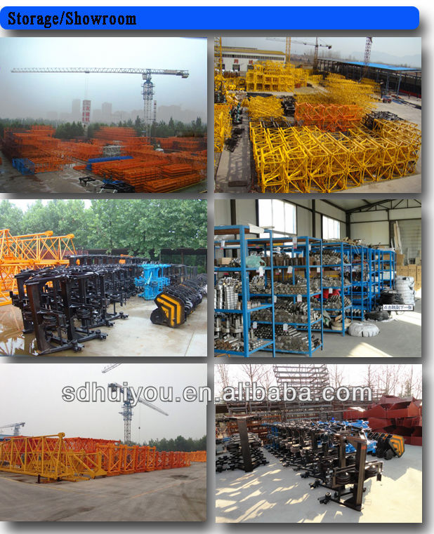 4tons QTZ4708 best prices of tower cranes,used tower crane