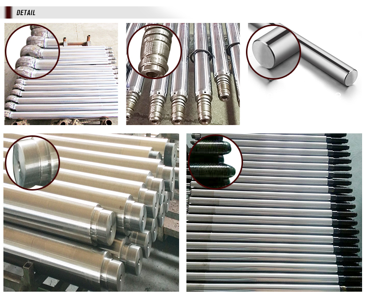 Good quality smooth surface ck45 hollow plated rod