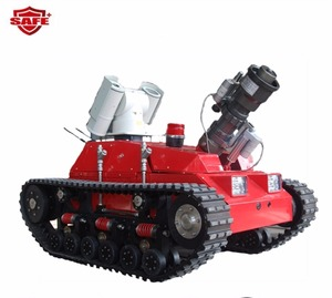 Deluxe mobile fire robot Act now