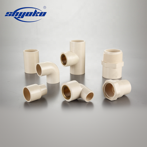 Water supply PVC/CPVC/PP/HDPE pipe fittings ANSI/CNS/JIS/DIN/BS/ISO standard