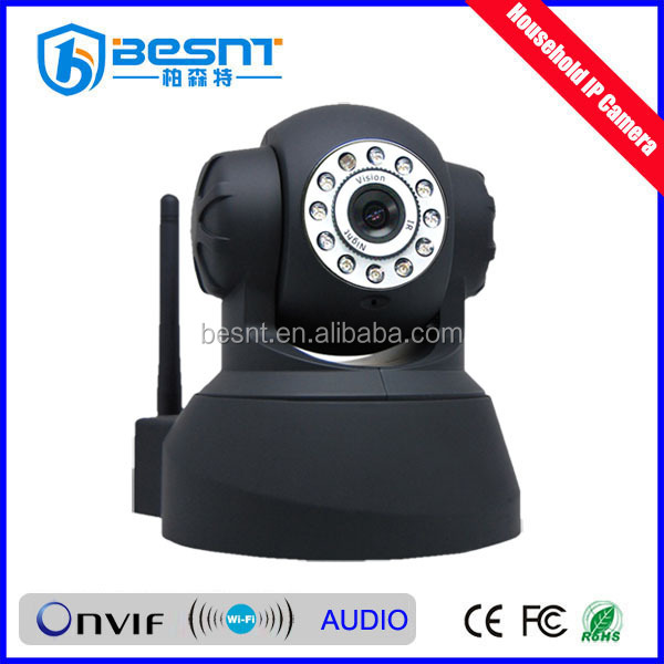 Low Price CMOS Sensor Support Internet Mobile Viewing Dome WIFI IP Camera Digital Camera (BS-IP05)