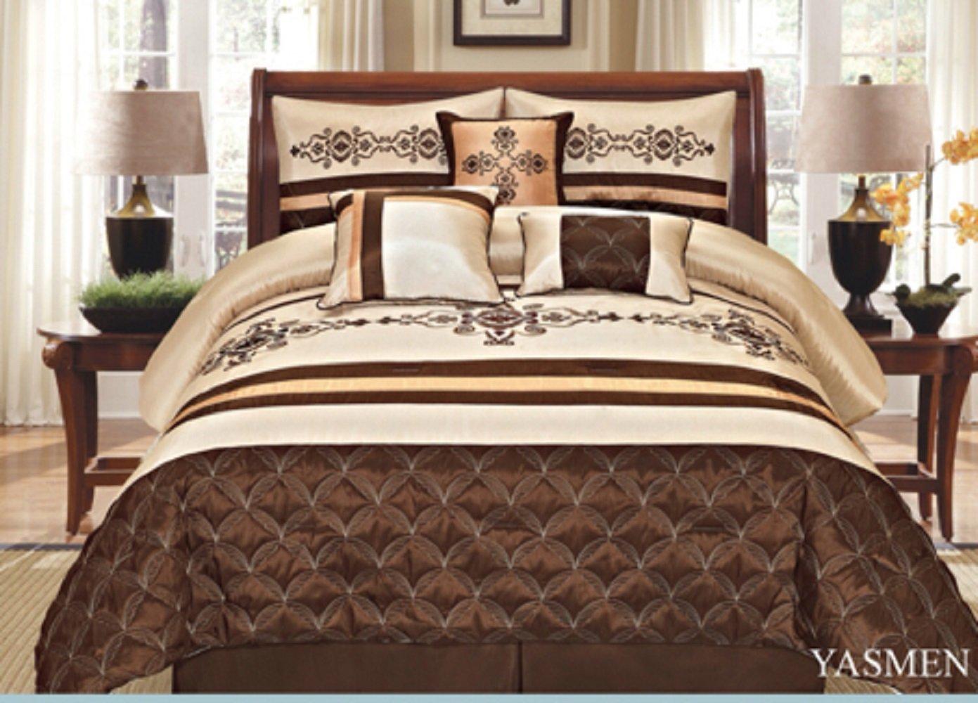 Cheap Brown Gold Comforter Set, find Brown Gold Comforter Set deals ...