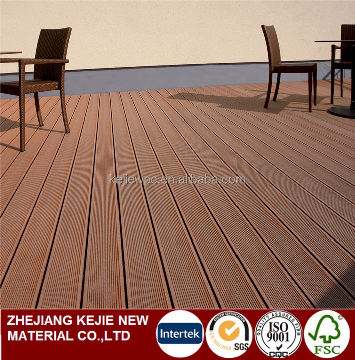 Waterproof Outdoor Portable decking Exterior Wood Plastic Composite Flooring