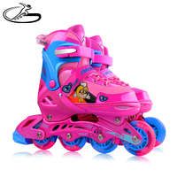 Children rubber wheels adjustable size Ice skating shoes patin winmax brand inline skate Zhejiang factory