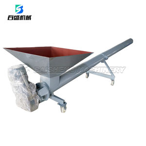 Powder Tube screw Conveyor With Hopper