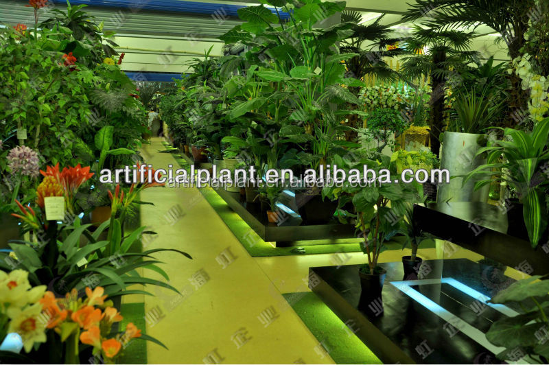 Atacado barato artificiais árvores artifiical flores plantas artificiais