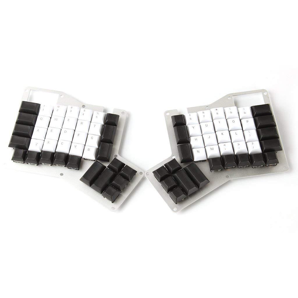 YMDK DSA Profile PBT Top Print Blank Ergodox Keycap Set For Ergo Ergodox Keyboard (Top Print)