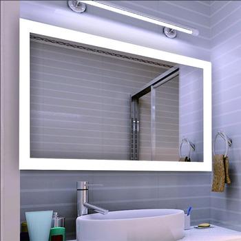 Eterna Led Light Backlit Defog Bathroom Touch Screen Bath