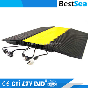 Cable protector floor heavy duty, yellow cable protection cover