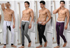 Wholesale - Top Sale Style Underwear, Man Thermal Underwear Sexy U Style Long Johns , 4 Colors Blacks Underwear