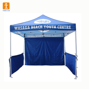 2018 custom design Factory wholesale canopy tent stalls folding pop up tent for sales used