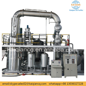 Automatic Mobile Oil Refinery Car Oil Cleaning Plant