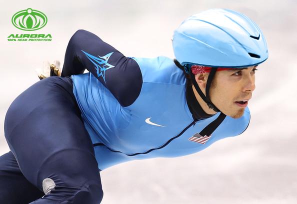2019 Newest Aero Ice Speed Skating Helmet 6