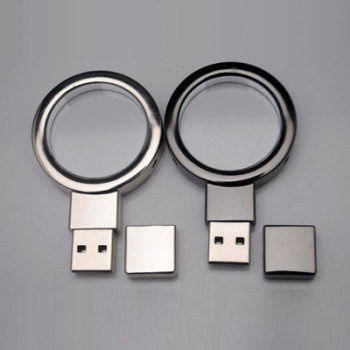 Creative shine metal 8GB USB flash drive with high quality
