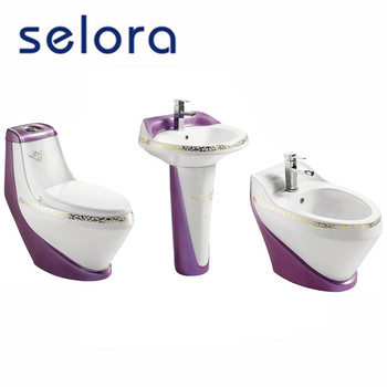 New design bathroom ceramic sanitary ware suite