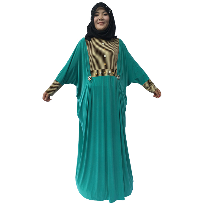 2017 low cost hijab islamic clothing dubai muslim stock dress