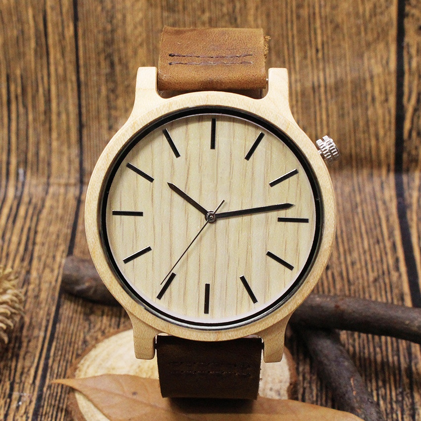Design your own unique custom wood watch OEM personality customized words wood watch фото