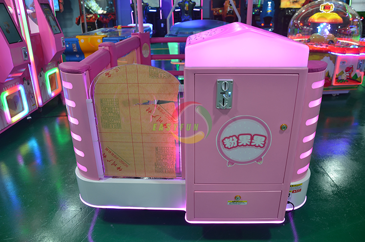 Supplier cheap Newest Happy stepping on screen kids stamp game machine