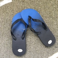 fashion summer beach customized PVC TPR EVA slippers printing rubber man flip flop slippers