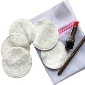 Wholesale Bamboo Reusable and Washable Cotton Pads Makeup Remover