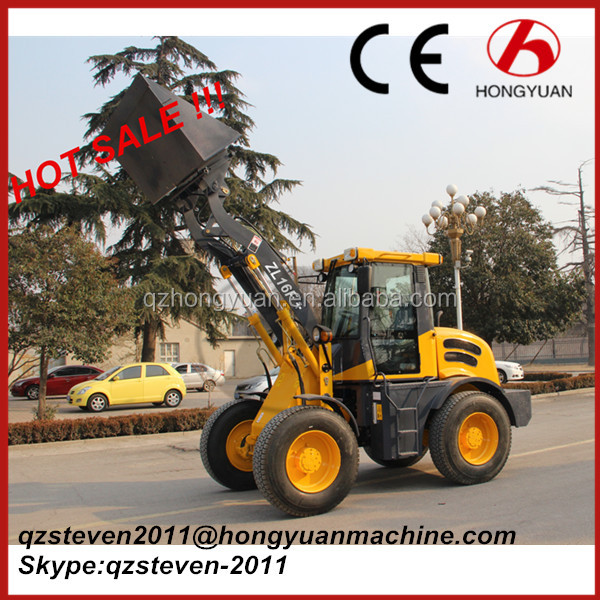 1.6ton Loading 4 Drive Truck Loader Hym ZL16 with Front Loader