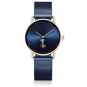 Luxury High Quality Leather Unisex Japan Movement Stainless Steel Watch