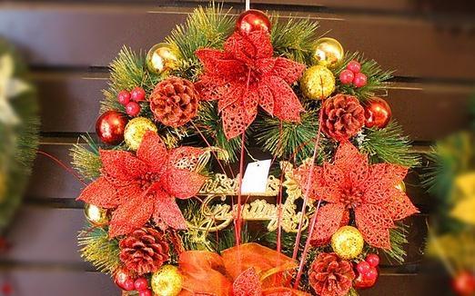 wholesale christmas wreath decorations wholesale christmas wreath decorations suppliers and manufacturers at alibabacom - Christmas Decorations Wholesale