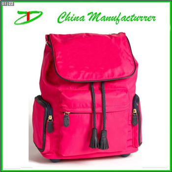 74c5d1e0d6c12 Tekerlekli okul çantası, gençler için trendy kızlar arabası okul çantası