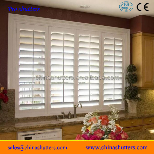 2017 Modern Design wood plantation shutters prices