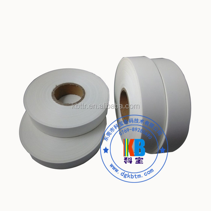 Thermal transfer printing nylon taffeta textile wash clothing care label