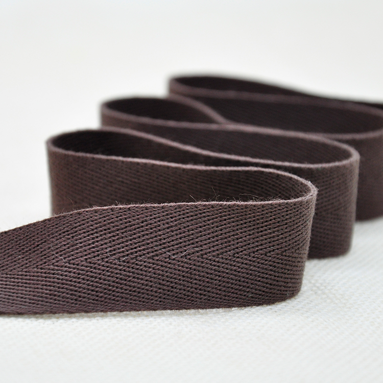 Wholesale High Tenacity Color Cotton Webbing Tape for Bag