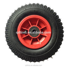 Can absorb impact load insulation sound insulation 3.00-8 PU Foam wheel