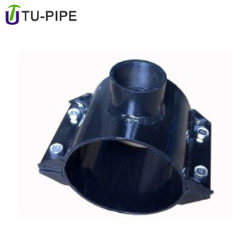 large diameter tube clamp high pressure steel pipe mount clamp