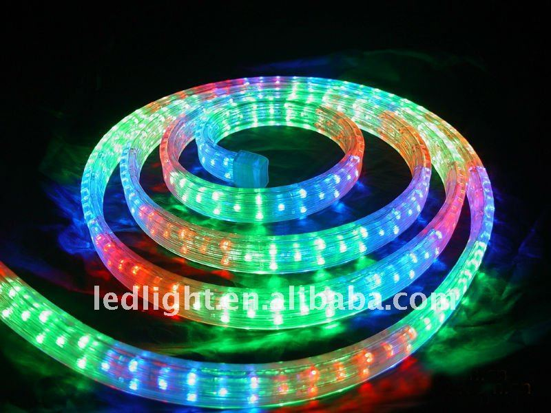 Excellent 5 wire rope light pictures inspiration electrical 100m waterproof street decoration rope lights5 wire flat round aloadofball Image collections