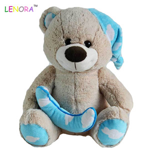Cuddly toys teddy bear hug the moon sleeping bears new creative couple bears