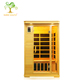 High quality Canadian Hemlock 2 persons infrared barrel sauna