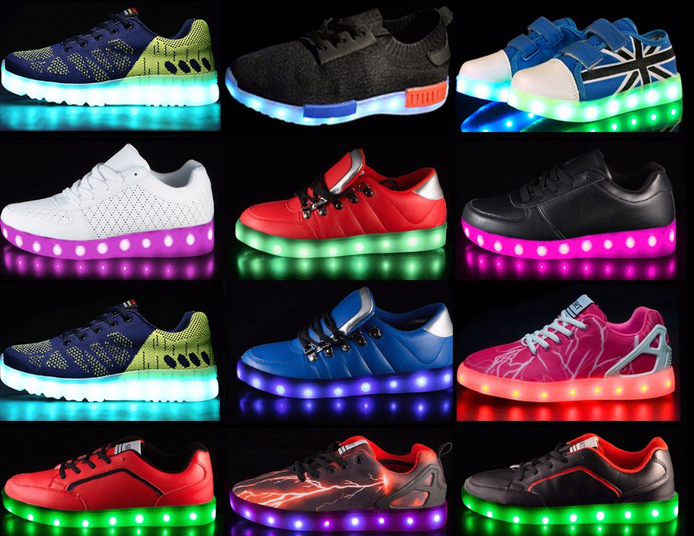 FAST shipping high quality hot sales led shoes yiwu